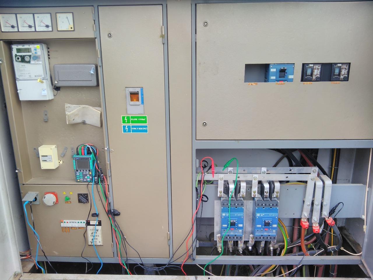 měření kvality sítě a celkového odběru